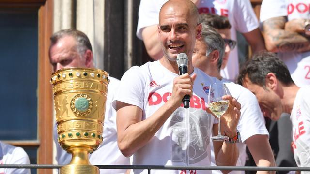 Guardiola start seizoen bij City met oefenwedstrijd tegen Bayern