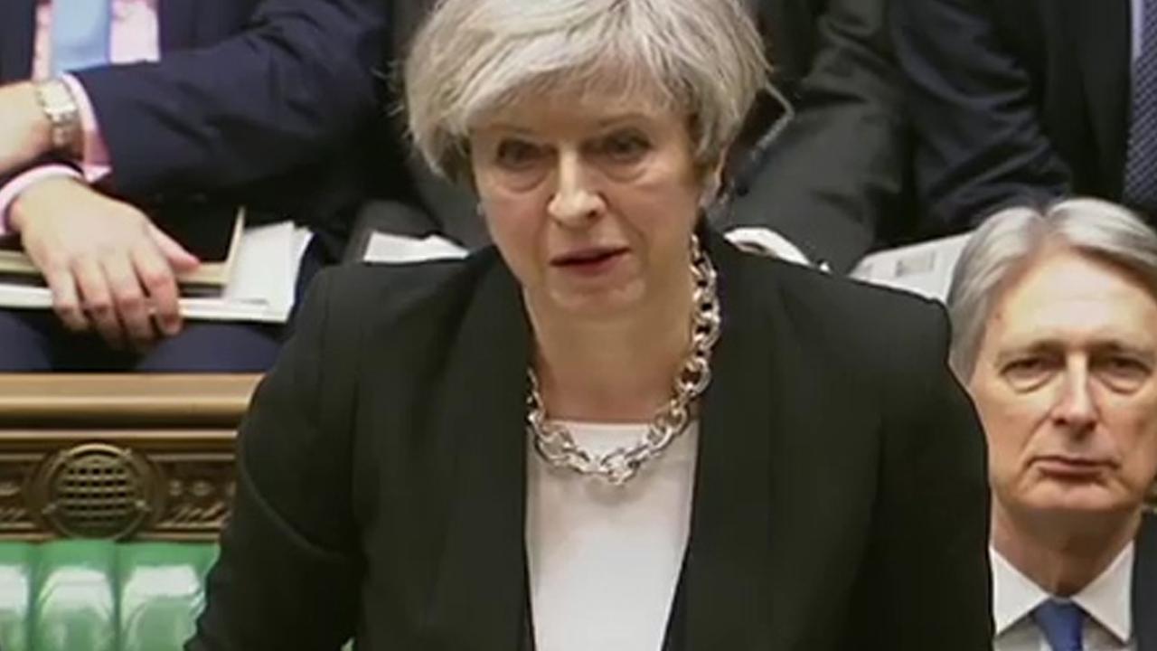 Premier May tegenover parlement: 'Wij zijn niet bang'
