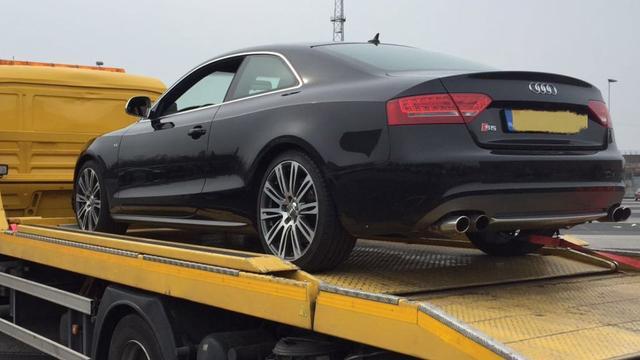 Verdachte van witwassen moet Audi S5 inleveren