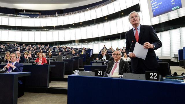 Europees Parlement stemt in met resolutie voor Brexit-onderhandelingen