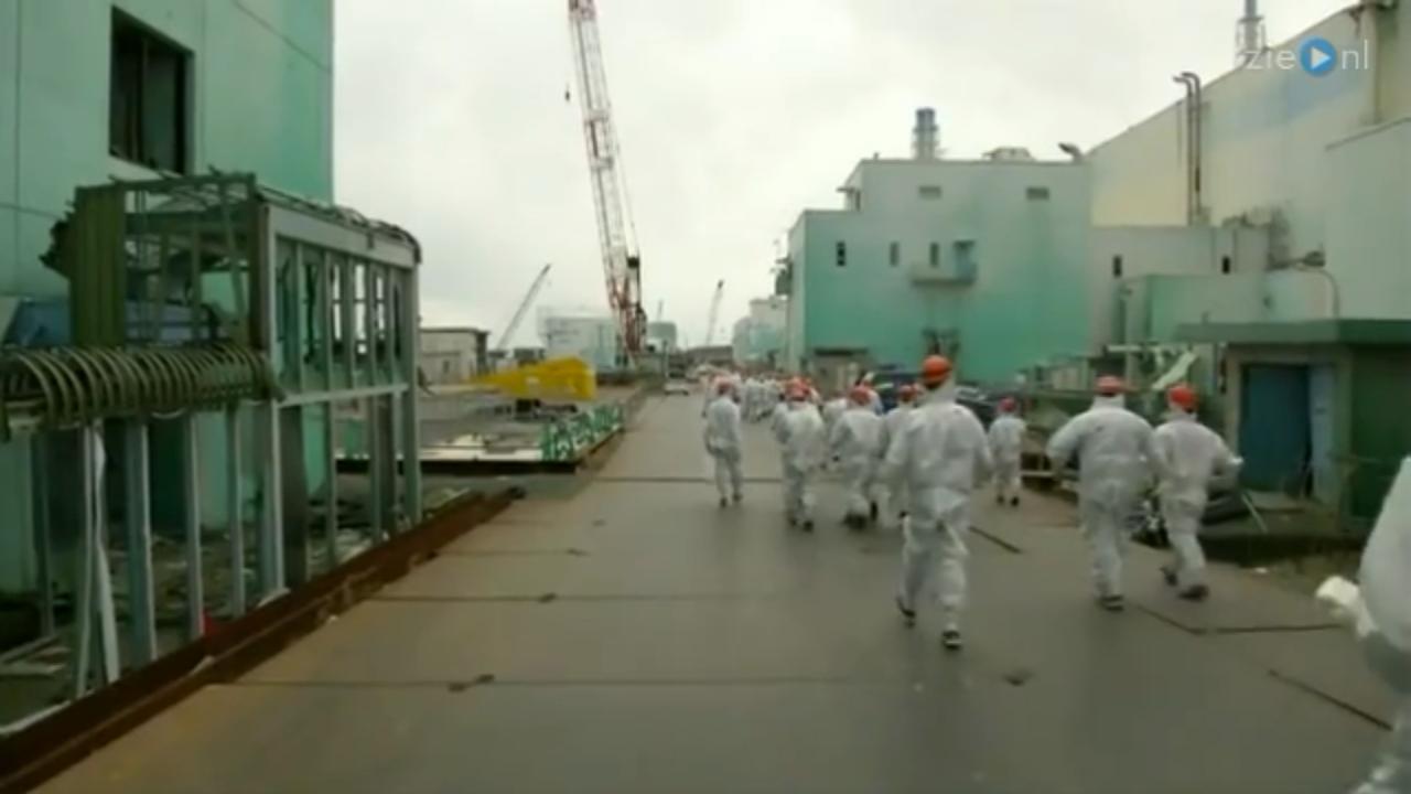 Eerste beelden reactor Fukushima