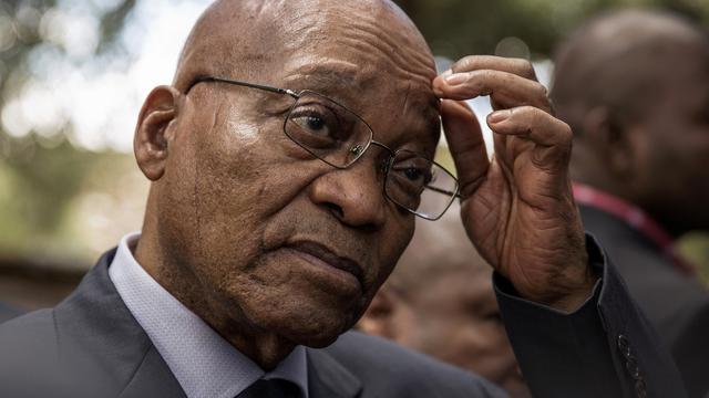 Zuid-Afrikaanse president Zuma ontslaat minister van Financiën