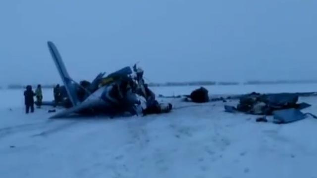 Drie doden bij vliegtuigcrash in Rusland