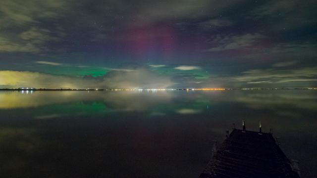 Noorderlicht waargenomen in noorden van Nederland