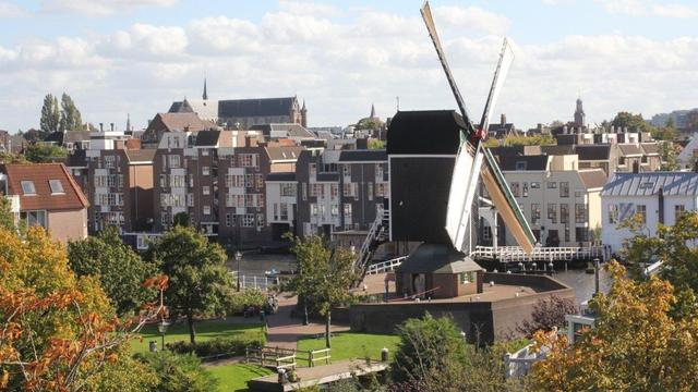 Komend weekend veel draaiende wieken in en om Leiden