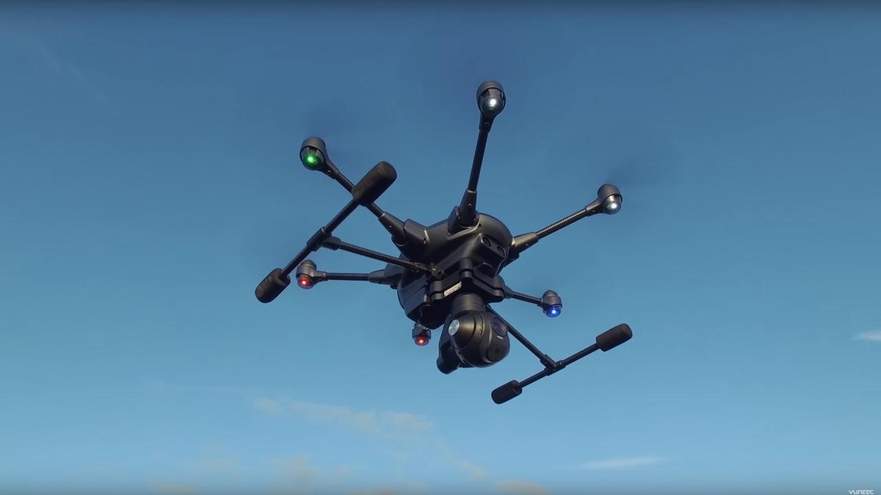 Drone Typhoon H kan zelf obstakels ontwijken