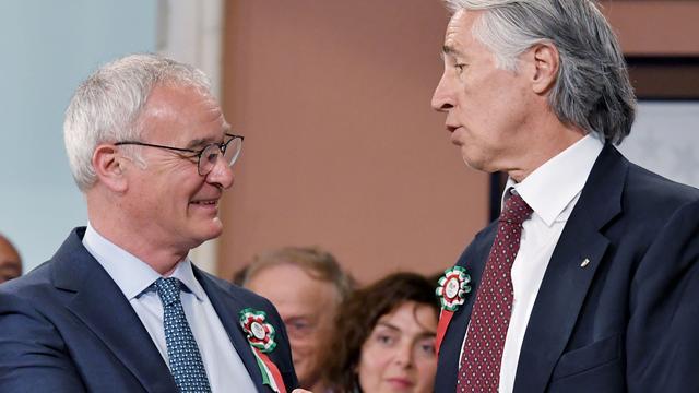 Prestigieuze prijs voor Ranieri in Italië
