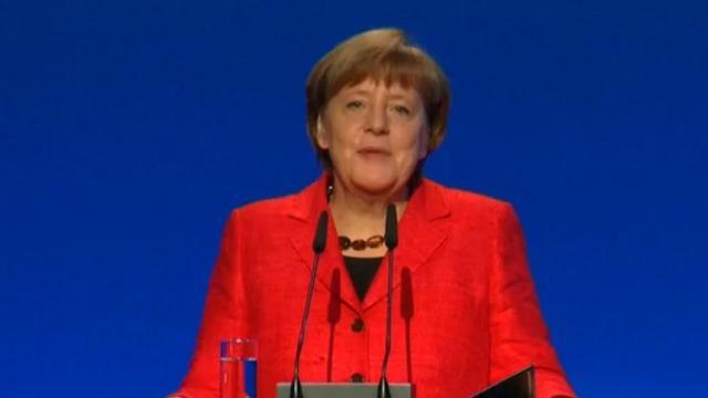 Merkel: 'Heel blij dat Nederlanders pro-Europees hebben gestemd'
