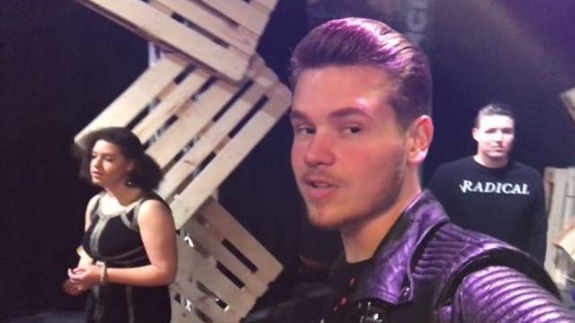 Mini-vlog Dave Dekker: Dave geeft optreden