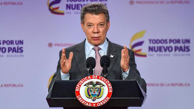President Colombia bezorgd om aflopend akkoord met FARC