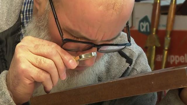 Twijfelachtige 'Mondriaan' levert 8000 euro op