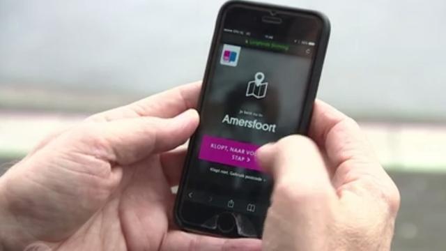 Mobiele app brengt vieze lucht in beeld