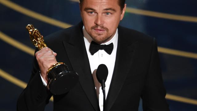 Leonardo DiCaprio en 'Spotlight' winnen Oscars