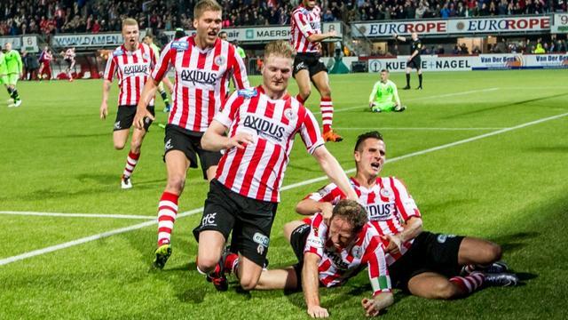 Breuer (35) noemt titel Sparta 'mooiste moment uit carrière'