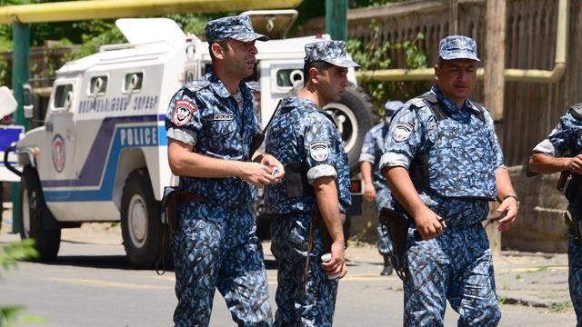 Gewonden bij gijzeling in Armenië