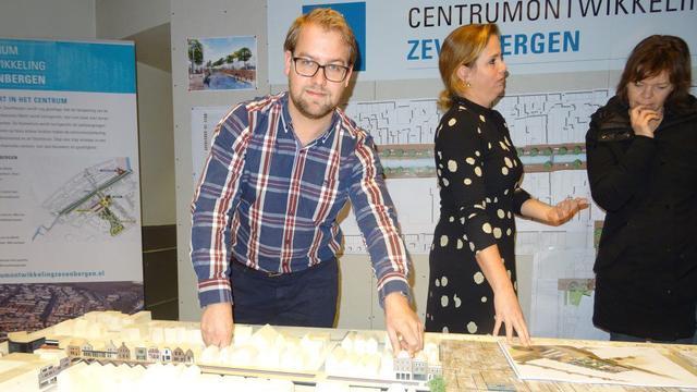 Nieuw centrum Zevenbergen gaat leven door maquette
