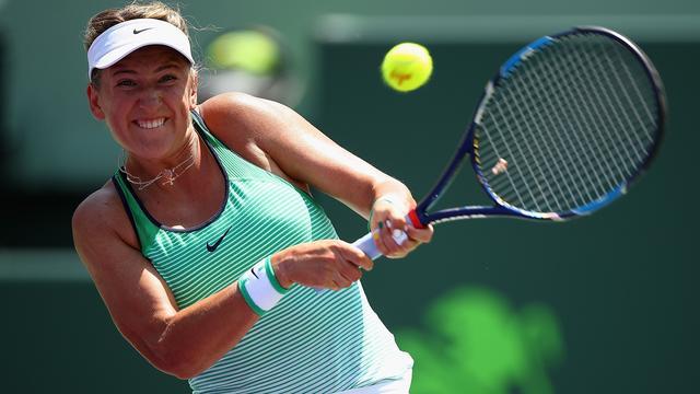 Zwangere Azarenka stopt voorlopig met tennis