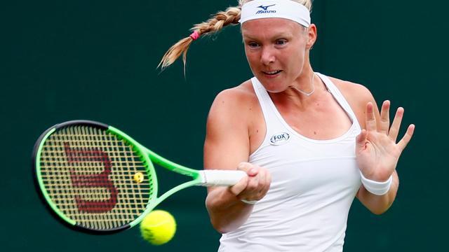 Bertens baalt flink van vroege uitschakeling op Wimbledon