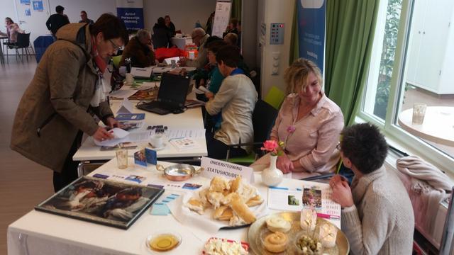 Organisaties geven informatie op Sociale Markt