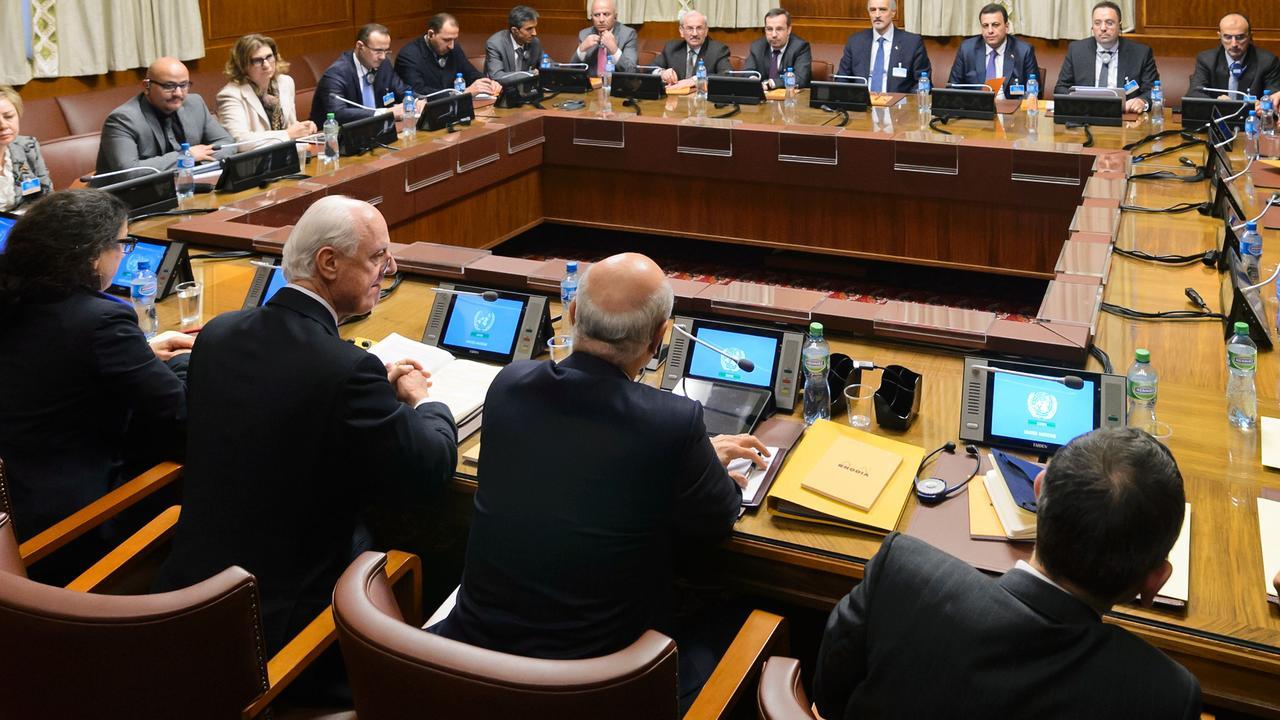 Vredesbesprekingen over Syrië begonnen