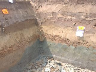 De loop en de diepte van de Limesweg wordt onderzocht