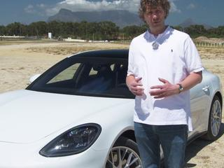 AutoWeek rijdt de nieuwe Porsche Panamera 4 e-Hybrid in de warme, Zuid-Afrikaanse zomerzon.
