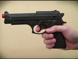 Vuurwapen niet van echt te onderscheiden