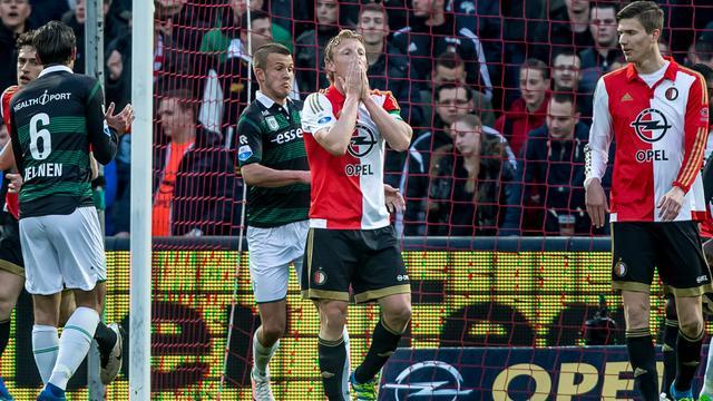Kuijt baalt van eigen optreden en matige eerste helft Feyenoord