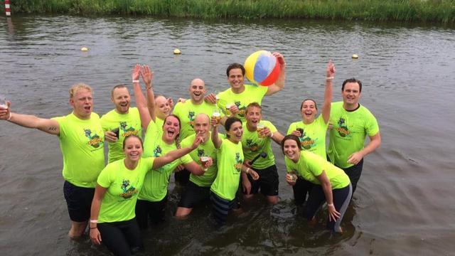 Ruim 1.700 deelnemers tijdens de TCV Obstacle Run in Alphen