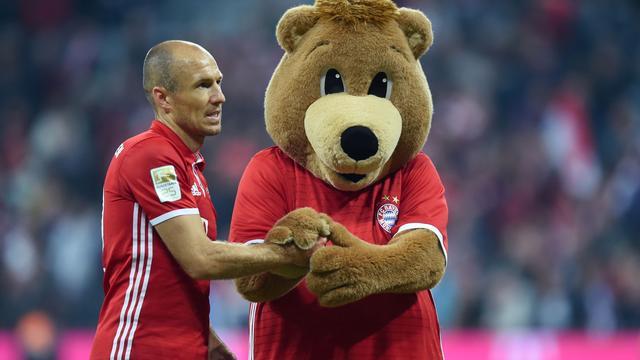 Robben had kippenvel bij droomrentree tegen Hertha