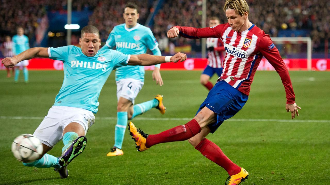 Samenvatting Atletico Madrid-PSV