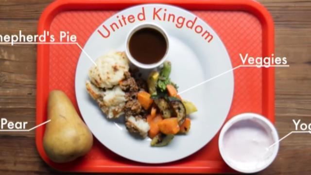 Dit zijn de lunches van kinderen over de hele wereld