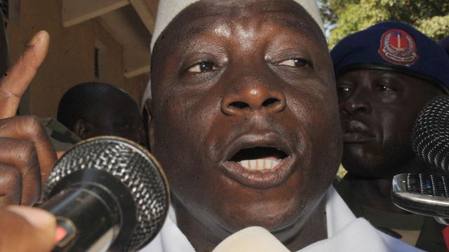 Afrikaanse Unie stopt met erkennen Gambiaanse president Jammeh