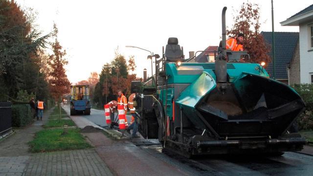 Willem Dreesweg krijgt nieuwe asfaltlaag