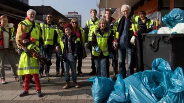 Wijkvereniging Merenwijk wil oplossing zwerfvuil Kopermolen