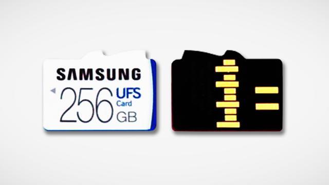 Samsung toont supersnelle geheugenkaart voor smartphones