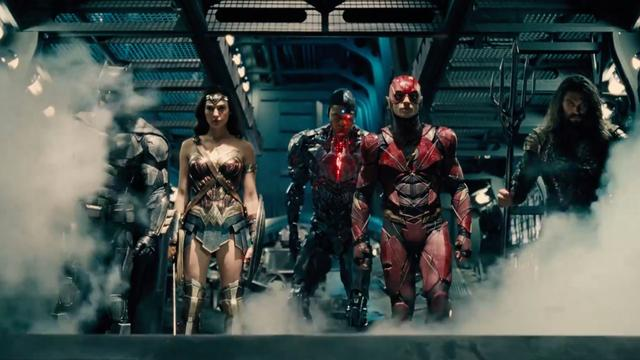 Batman, Wonderwoman en The Flash in eerste trailer Justice League