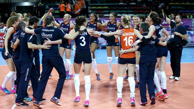 Volleybalsters houden kans op Spelen dankzij zege op Kroatië
