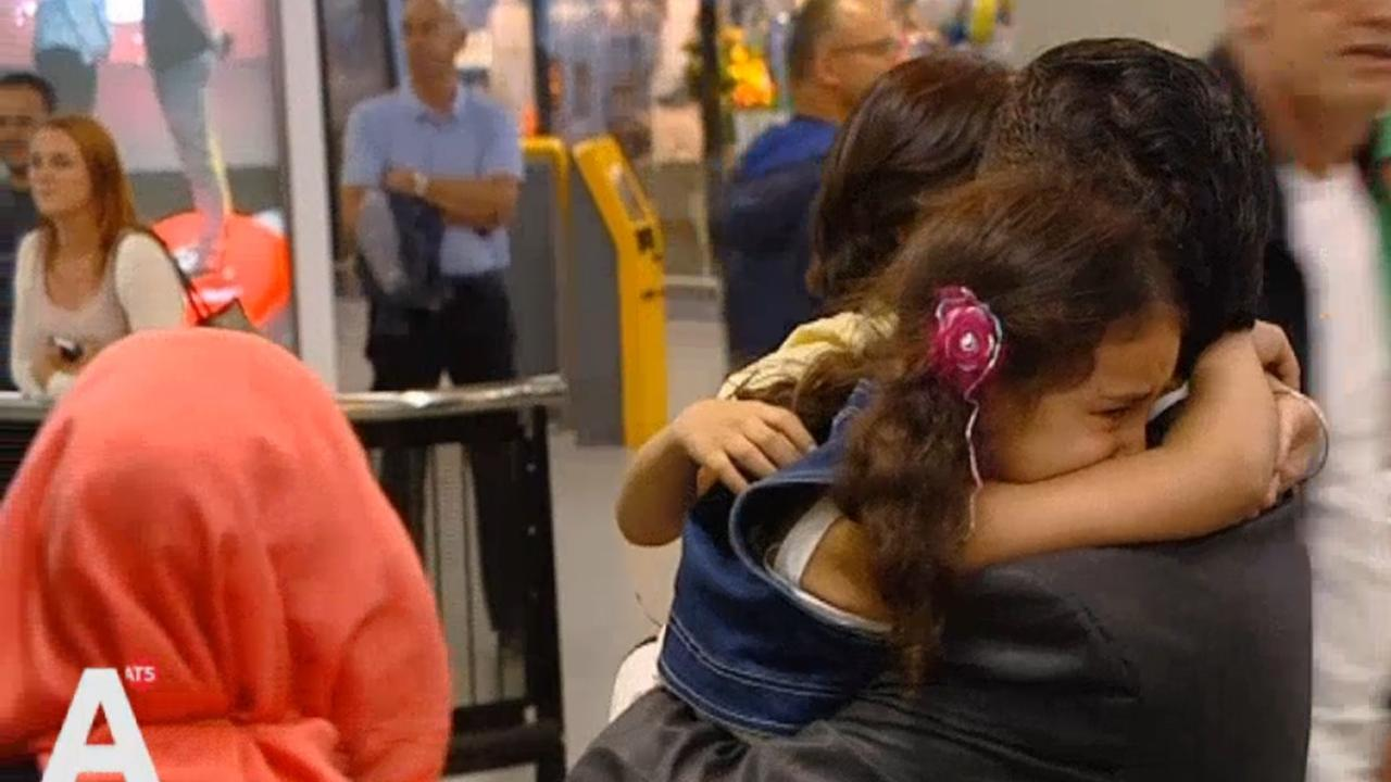 Syrische vluchteling na jaar weer herenigd met gezin