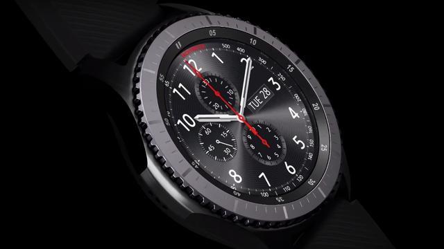 Gear S3 is de nieuwste smartwatch van Samsung