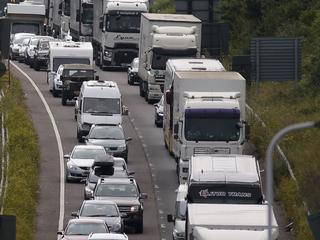 Langste files op Autoroute du Soleil (A7) en A10 tussen Parijs en Bordeaux