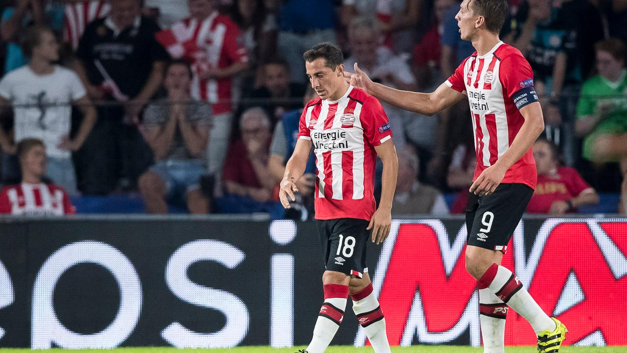 Samenvatting PSV-Atletico Madrid (0-1)