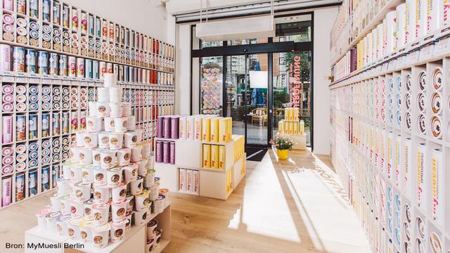 MyMuesli opent eerste Nederlandse vestiging in Utrecht