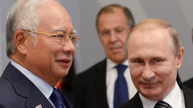 Maleisische premier positief over gesprek met Poetin over MH17