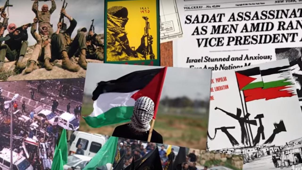 Geschiedenis van conflict tussen Israël en Palestina