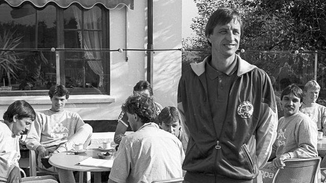 'Cruijff lunchte voor wedstrijden in de Oesterbar'