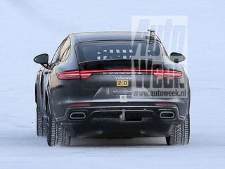 Een mysterieuze Porsche rijdt zijn testronden door de Scandinavische sneeuw. Hier zijn de beelden die niet geschoten hadden mogen worden.