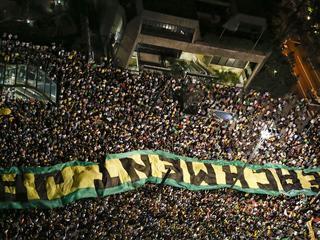 Woensdagavond braken in verschillende steden protesten uit