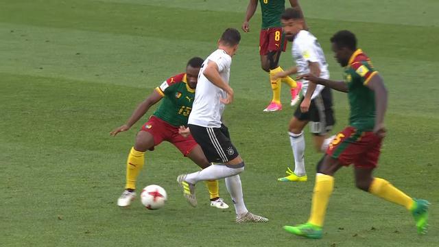 Bekijk de samenvatting van Duitsland tegen Kameroen in de Confederations Cup