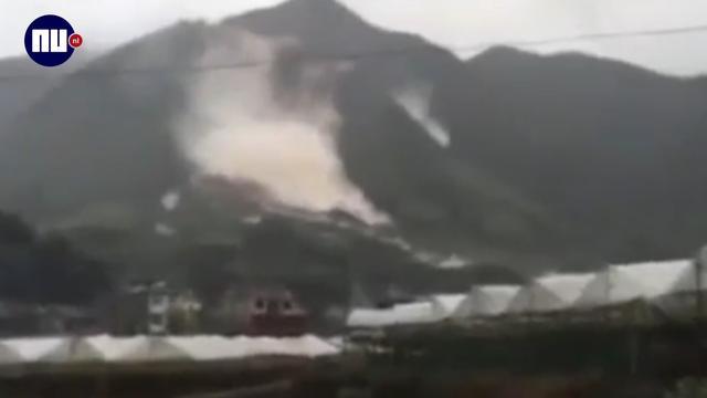 Ruim dertig vermisten door aardverschuiving China